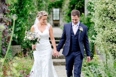 Weddings receptions at West Dean Gardens Photo Credit Helen Cawte
