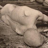 pompei figure by John Blakeley