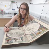 Conservation of Books student West Dean College