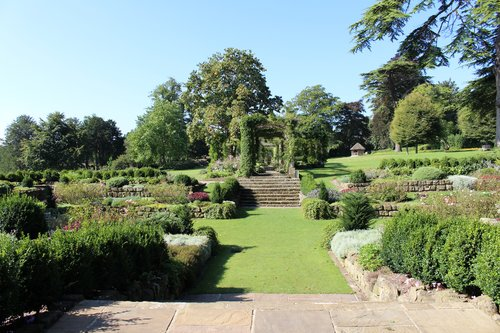 Sunken Garden and Edwardian Pergola at West Dean Gardens