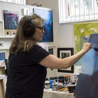 Eve Dawson Painting short courses at West Dean College