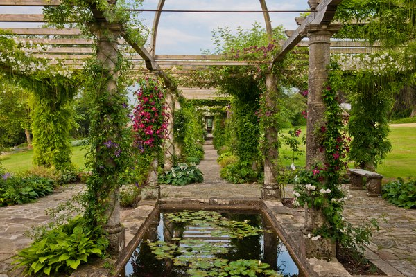 Edwardian Pergola West Dean Gardens West Sussex