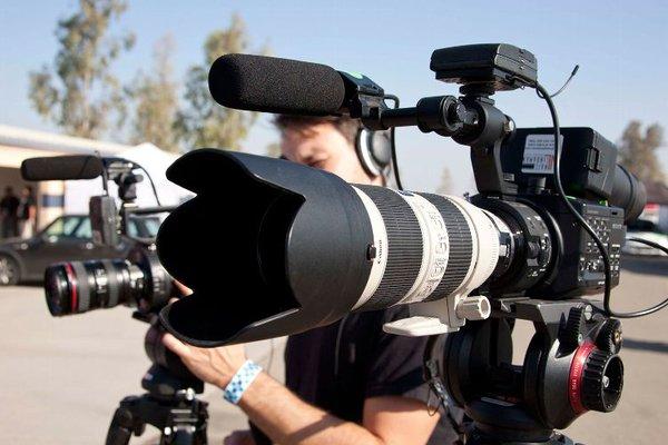 Film crew media