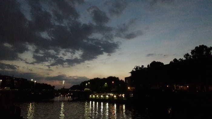 Sonnenuntergang Berlin