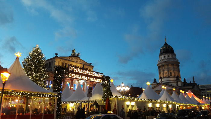 Weihnachtsmarkt Berlin-Gendarmenmarkt