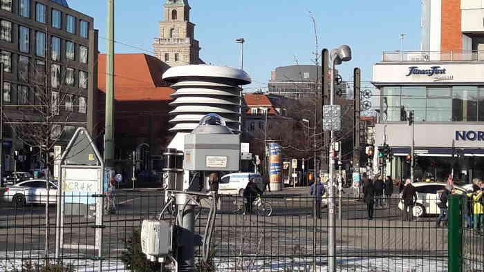 Wetterstation Alexanderplatz