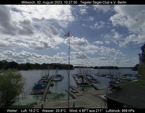 Webcam mit Blick über den Hafen des TSC