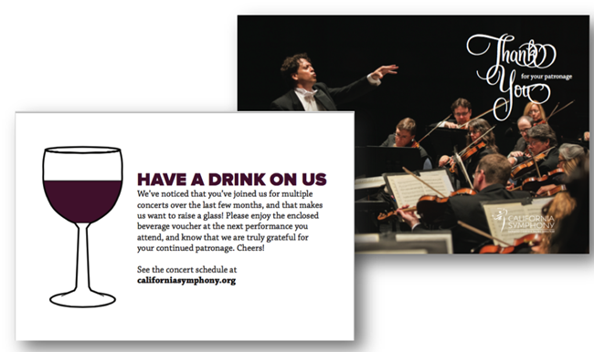 California Symphony Postcard 2