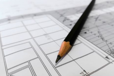 Architects Plans And Pencil