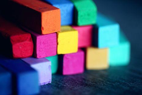 Art Materials Art Supplies Blocks Blur 1148496