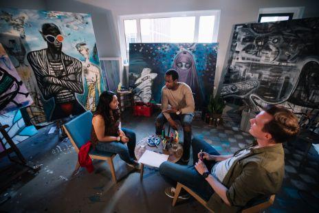 Artist Studio Conversation