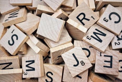 Pile Of Scrabble Letters