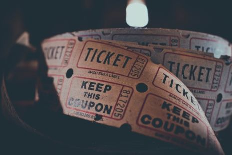 Roll Of Retro Style Event Tickets