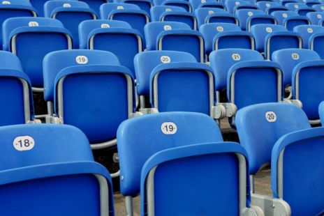 Rows Of Seats With Numbers