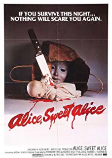 Alice, Sweet Alice Cover