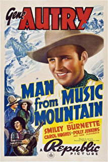 Man from Music Mountain Cover