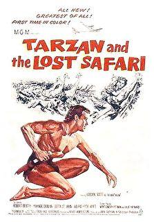 Tarzan and the Lost Safari Cover