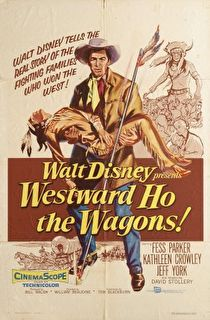Westward Ho the Wagons! Cover