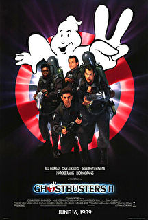 Ghostbusters II Cover