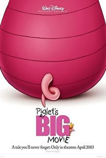 Piglet's Big Movie Cover