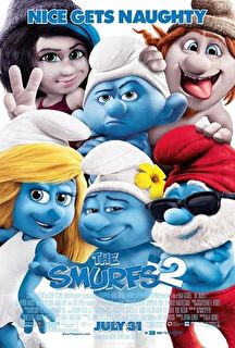 The Smurfs 2 Cover