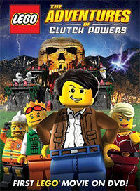 Lego: The Adventures of Clutch Powers Cover