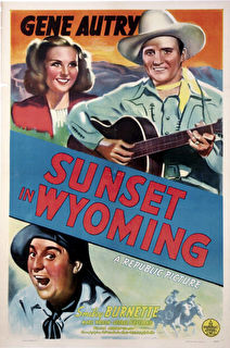 Sunset in Wyoming Cover
