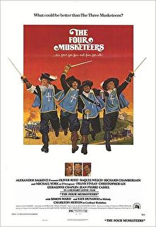 The Four Musketeers Cover