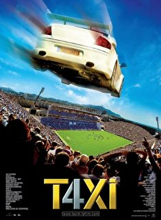 Taxi 4 Cover