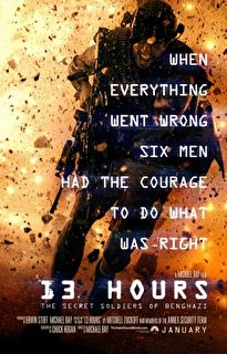13 Hours: The Secret Soldiers of Benghazi Cover