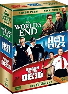 Three Flavours Cornetto trilogy Cover