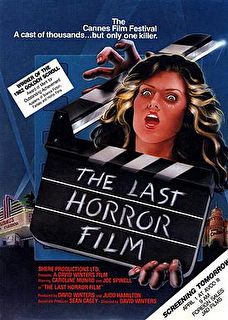 The Last Horror Film Cover