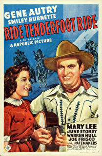 Ride, Tenderfoot, Ride Cover