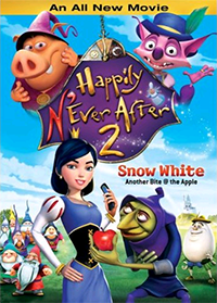Happily N'Ever After 2: Snow White Another Bite @ the Apple Cover
