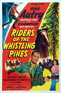Riders of the Whistling Pines Cover