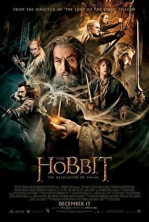 The Hobbit: The Desolation of Smaug Cover