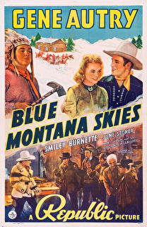 Blue Montana Skies Cover