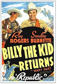 Billy the Kid Returns Cover