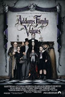 Addams Family Values Cover