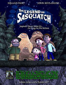 The Legend of Sasquatch Cover