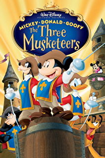 Mickey, Donald, Goofy: The Three Musketeers Cover