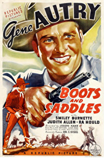 Boots and Saddles Cover