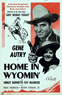 Home in Wyomin' Cover