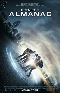Project Almanac Cover