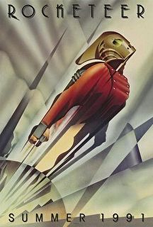 The Rocketeer Cover