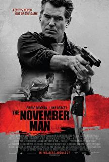 The November Man Cover