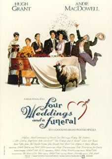 Four Weddings and a Funeral Cover