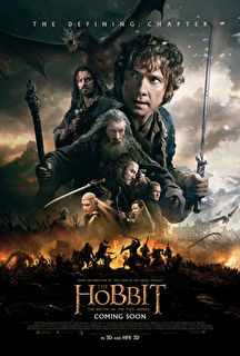 The Hobbit: The Battle of the Five Armies Cover