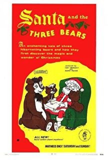 Santa and the Three Bears Cover