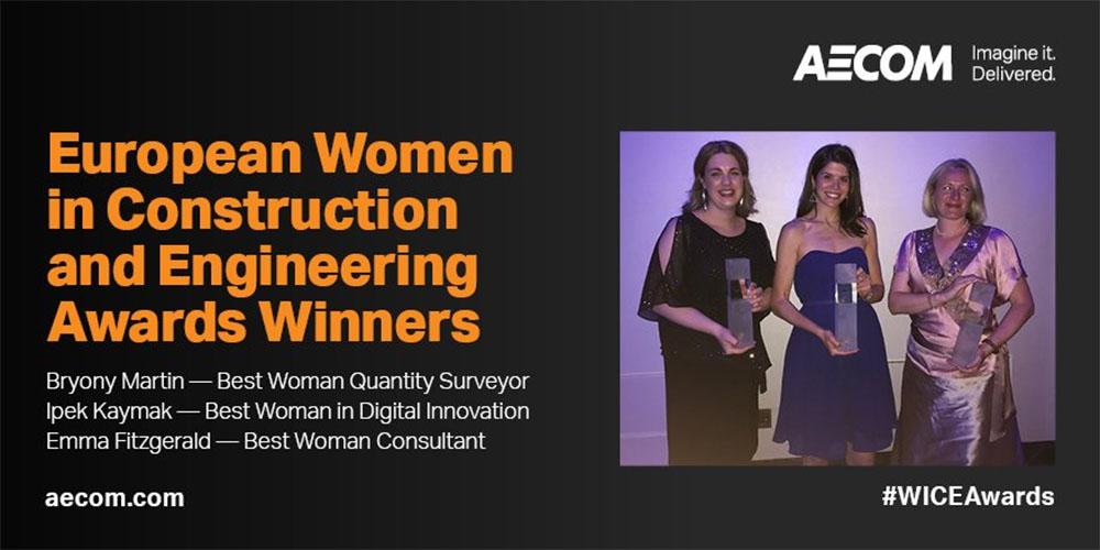 AECOM WICE award